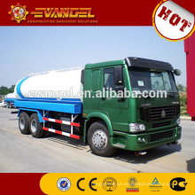 Dimensiones del camión tanque de agua Sinotruk HOWO 6x4 20000 litros