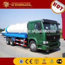 Главный sinotruk HOWO с колесной формулой 6x4 20000 литр воды, размеры бака грузовика