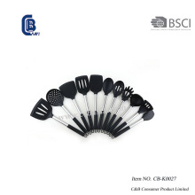 Ensemble d'ustensiles en silicone 11PCS avec poignée en silicone