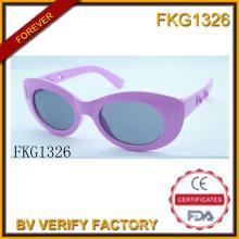Mariposa púrpura gafas de sol para niños (FKG1326)