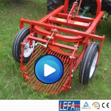 Traktor montiert Mini Kartoffelerntemaschine Maschinen mit Pto-Welle