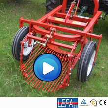 Сельскохозяйственный Трактор сладкие мини-однорядный картофелеуборочный комбайн для продажи