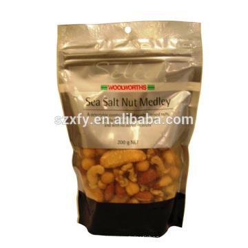 Impressão personalizada laminado material de grau alimentar sacos sacos de saco para saco de embalagem de doces / plástico
