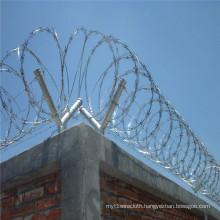 Galvanized Concertina Razor Wire Bto-22