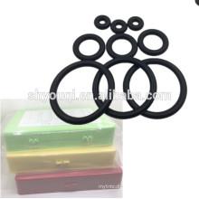 Sello de goma métrico estándar Anillo de goma Paquete NBR70 oring searies Caja de reparación Sello de junta tórica kit / conjunto