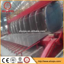 машина завальцовки стальной плиты для топливного бака