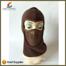 NINGBO LINGSHANG high quality polar fleece wholesale outdoor sport hat neck warmer balaclava