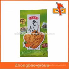 Hitzeempfindlicher Seitenfalten-Vakuum-Plastikbeutel für Keksverpackungen