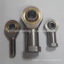 Roulements à billes sphériques radiaux en caoutchouc en acier chromé haute précision fabriqués en Chine