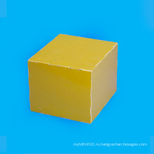 Желтый эпоксидной стекловолокна лист ламината fr4