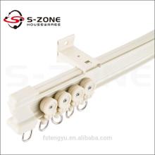 ceiling mechanical curtain track / industrial heavy duty curtain tracks