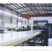 high output automatic pu foam sandwich production line