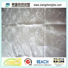 Tissu funéraire en satin jacquard 100% polyester