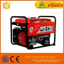 Leistungsfähiges 5kw Benzin-Generator / 5 Kva Benzin-Generatoren