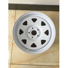 Steel Wheel 17X8 for 4X4 Cars