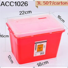 High quality Plastic Sharp Container 4L