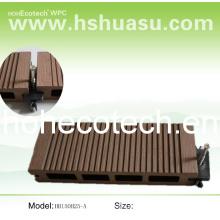 Tablier en plastique de poudre de bois
