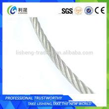 Cabo de aço galvanizado fio de aço Preço corda de aço