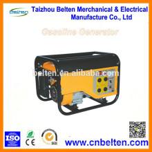 BT4000 2.8KW 2.8KVA gasolina 6.5HP generador único