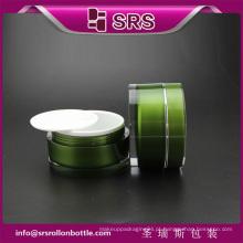 Luxo de promoção de alta qualidade 100ml plástico cosmético embalagem creme jar