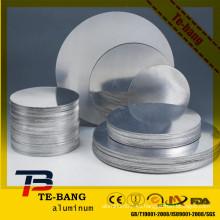 1100 1050 1060 3003 círculo de aluminio forjado