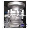 API 6D Válvula de esfera flutuante de aço carbono de 4 polegadas
