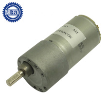 545 Motor 80rpm 100rpm Low Speed with 37mm Mini Gearbox and Encoder for Car Parts