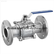3-PC Flange Ball Valve (manual) (Q11F-11)