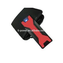 Doble arrancador de salto USB 12V 18000 mah mini arrancador de salto con pinzas Inteligentes