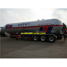 32MT 62000 Litros Propano Bulk Tank Trailers