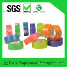 Cinta adhesiva de papel pequeño colorido básico