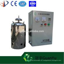 Completo sistema de gerador de ozônio de água purificada filtro de auto-limpeza