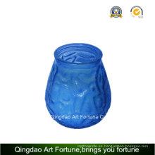Vaso de cristal Citronella Jar para decoración al aire libre