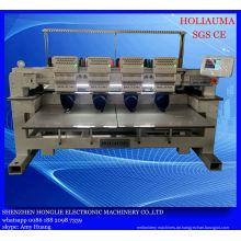 Vier Leiter Industrial Computer Stickmaschine für 3D Cap Kleidungsstück Multi Funktion Stickerei