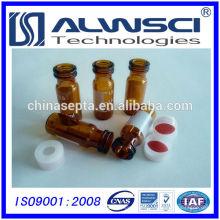 China frasco rápido de la fabricación frasco del vidrio del frasco del vidrio de 2ml para el sistema de la HPLC