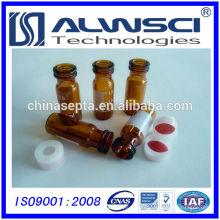 Flacon de mise en bouteille de fabrication en Chine Flacon d'auto-échantillonnage en flacon de verre de 2 ml pour système HPLC