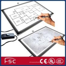 Neue Produkt einstellbar Lichtkasten für Zeichnung