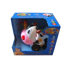 Hot Sale Plastic B/O Cartoon Animals with Music (10213013)