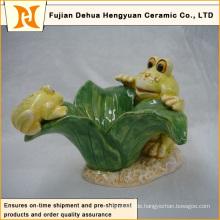 Gartendekoration Reizender keramischer Frosch Handwerk (Hauptdekoration)