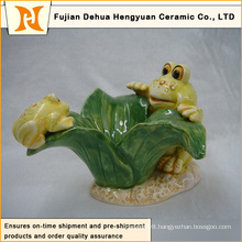 Garden Decoration Lovely Ceramic Frog Crafts (home decoration)