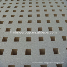 High Quality White Perforated Gypsum Board with Factory Price for Hot Sale