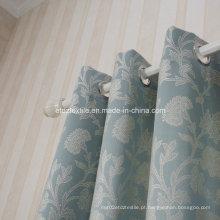 Bordado chinês quente do teste padrão da flor como a cortina da janela
