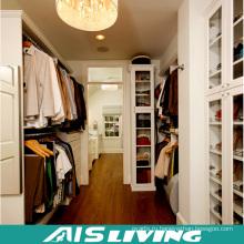 Роскошная Вилла, деревянное зерно встроенный шкаф дизайн шкаф для домашней мебели (АИС-W455)