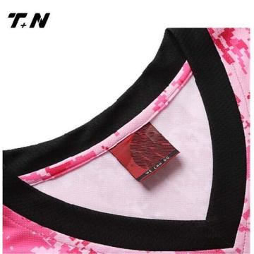 Custom Sublimation Polyester Team Wear Basketball Tröjor
