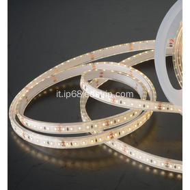Tutti in uno SMD2835 24V 120Leds trasparente Led Strip Light