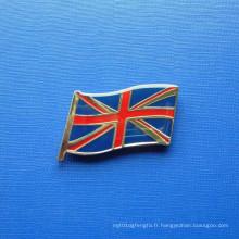 Flag Pin, badge organisé personnalisé pour époxy-gouttelettes (GZHY-LP-021)