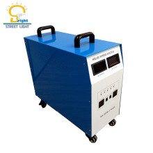 Haute qualité utilisé pour le pont TV ordinateur et plus d'appareils ménagers 1KW système d'éclairage solaire pour la maison