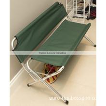 Double Seats Folding Garden Chair