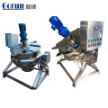 Caldera de cocinar revestida del vapor del acero inoxidable industrial de la categoría alimenticia de la capacidad grande 200 litros