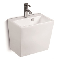 G803 Wall Hung Square Ceramic Basin
